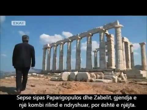 Dokumentari që çensuroi kisha greke sepse ka të dhëna që populli grek nuk duhet ti dijë. Grekët nuk kanë lidhje me greqinë e lashtë por shumica janë Arvanitas - Shqiptarë të helenizuar me dhunë. Greqia e lashtë, për grekët e sotëm, është një mit dhe si e tillë është e mbushur plot me të pavërteta. Ja se çthotë Presidenti amerikan John F. Kenned...