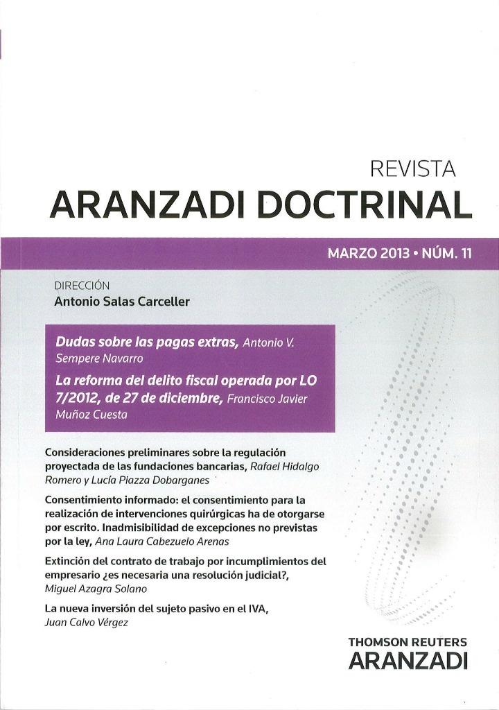 ARANZADI DOCTRINAL