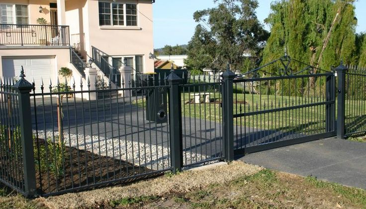 heritage fencing letterbox gate - Google Search