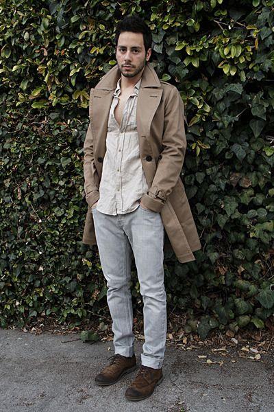 casualBurberry Coats, Street Style, Men Trench, Men Fashion, Reyalfashion Com, Fashion Fellas, Fashion 2014, Trench Coats, Men Casual