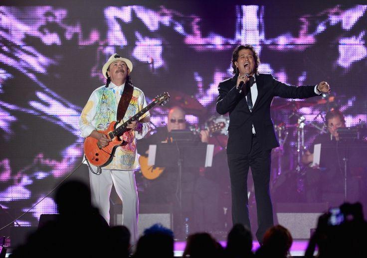 Santana y Carlos Vives