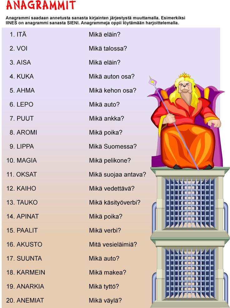 Anagrammit