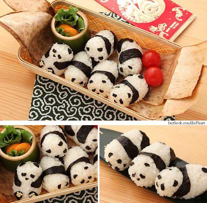 Sushi Pandas! <3 :D