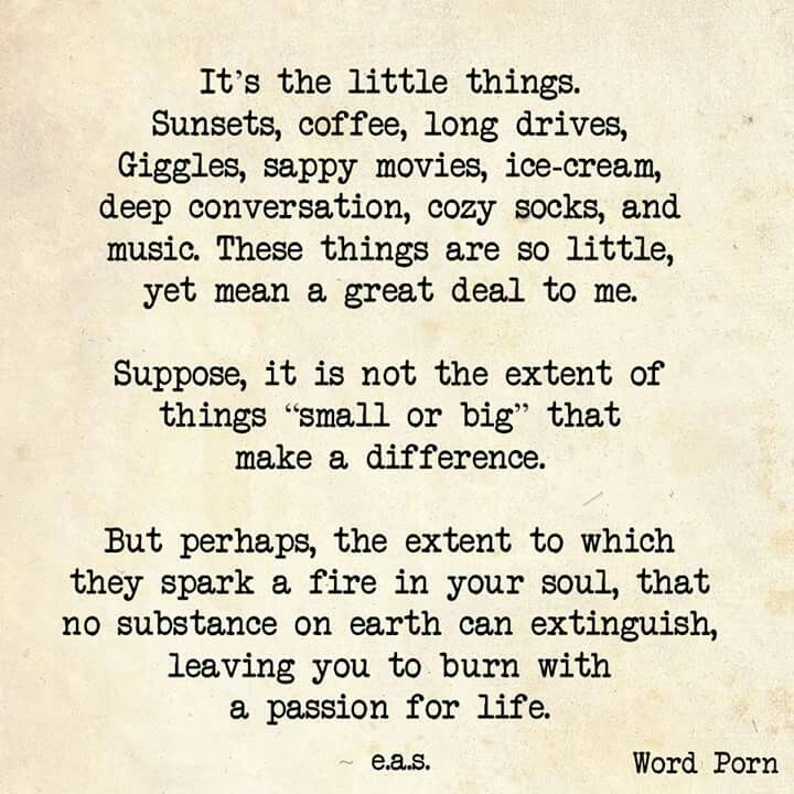 Passion can be found in many things.