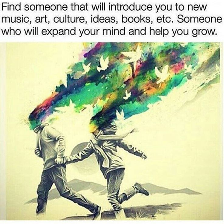 Find someone who will introduce you to new...
