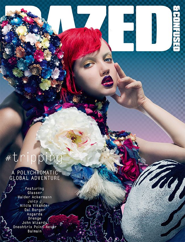 OCTOBER, 2013. Lindsey Wixson fronts our #TRIPPING issue, shot by Pierre Debusschere and styled by Robbie Spencer.