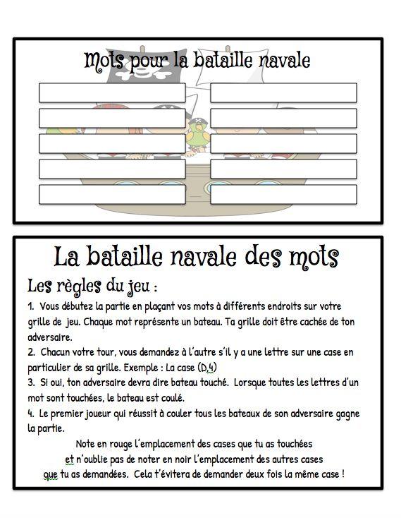 Bon lundi tout le monde! Sur le blogue ce matin, je place un petit jeu de bataille navale pour faire l'étude des mots. Personnellement, j'...