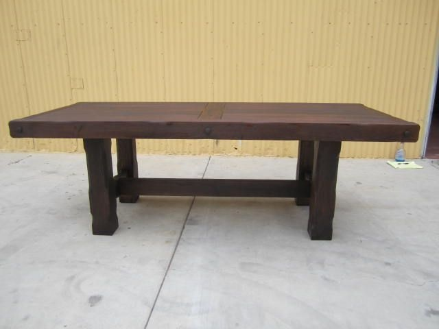 $3,450   French Antique Rustic Dining Table Trestle Table Antique Furniture