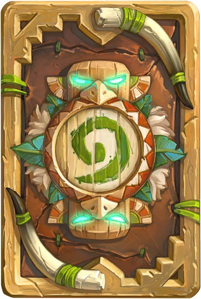 Card Back: Tauren Thunderbluff Artist: #Blizzard Entertainment