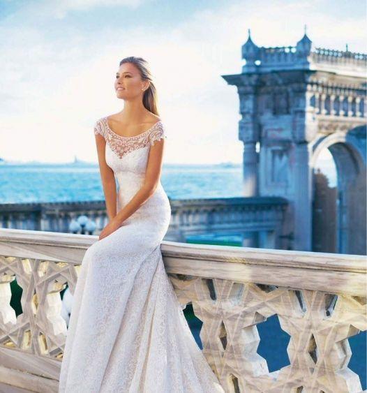 Бар Рафаэли - фотосессия в свадебных платьях Pronovias