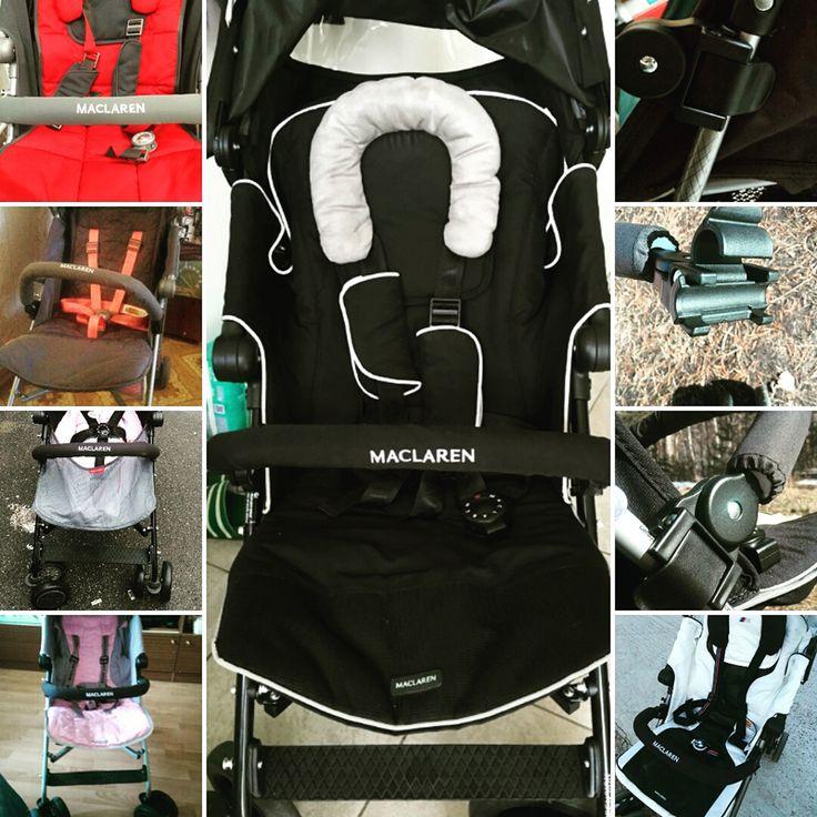 Универсальная коляска аксессуары Maclaren Детские коляски Бампер Maclaren Бар подлокотника Общие Багги аксессуары Черный Серый коляска прогулочная