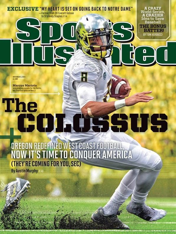 Oregon quarterback Mariota gets Sports Illustrated cover