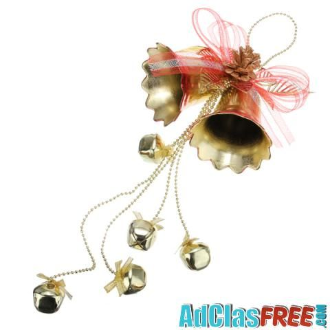 Christmas Double Bell With Cross Bells Decoration - US Classified Ads   Post Your Ads For Free