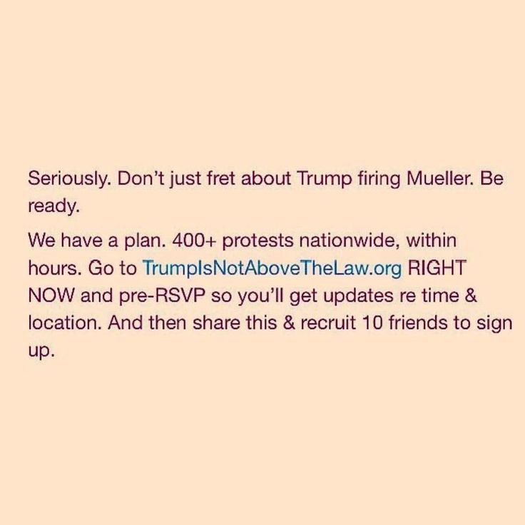 Get involved. Do you part to peacefully protest of the time comes to do so.... again..