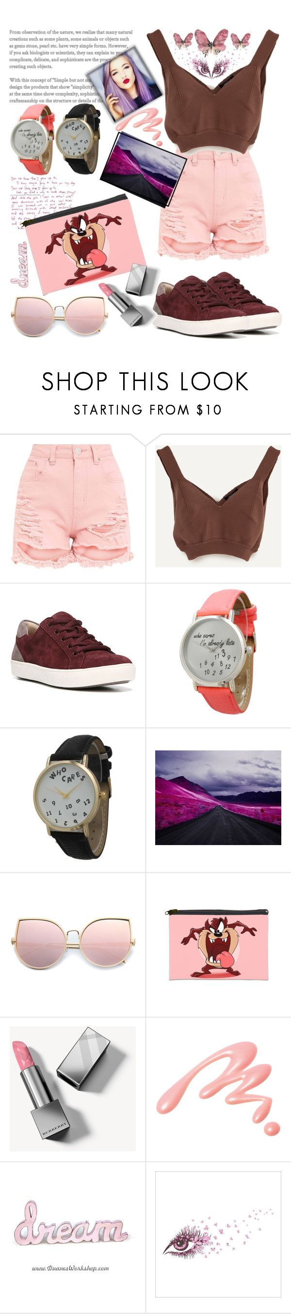 """""""I am funny but not a bunny 🔥💋🔥"""" by she-fashionlove ❤ liked on Polyvore featuring Naturalizer, Olivia Pratt, National Geographic Home, Burberry and Chantecaille"""