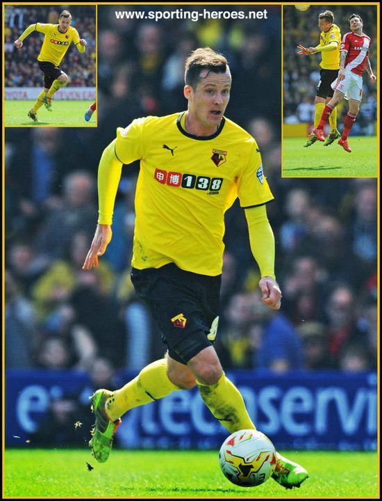 Daniel Tozser - Watford FC - League Appearances