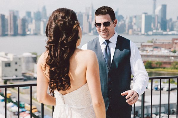 Industrial chic wedding in New York | Lean & Harloff - Love4Wed