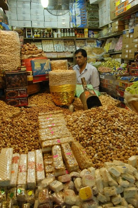 Nuts and Sweets, Old City...: Photo by Photographer Douglas Brill - photo.net #Israel #Jerusalem