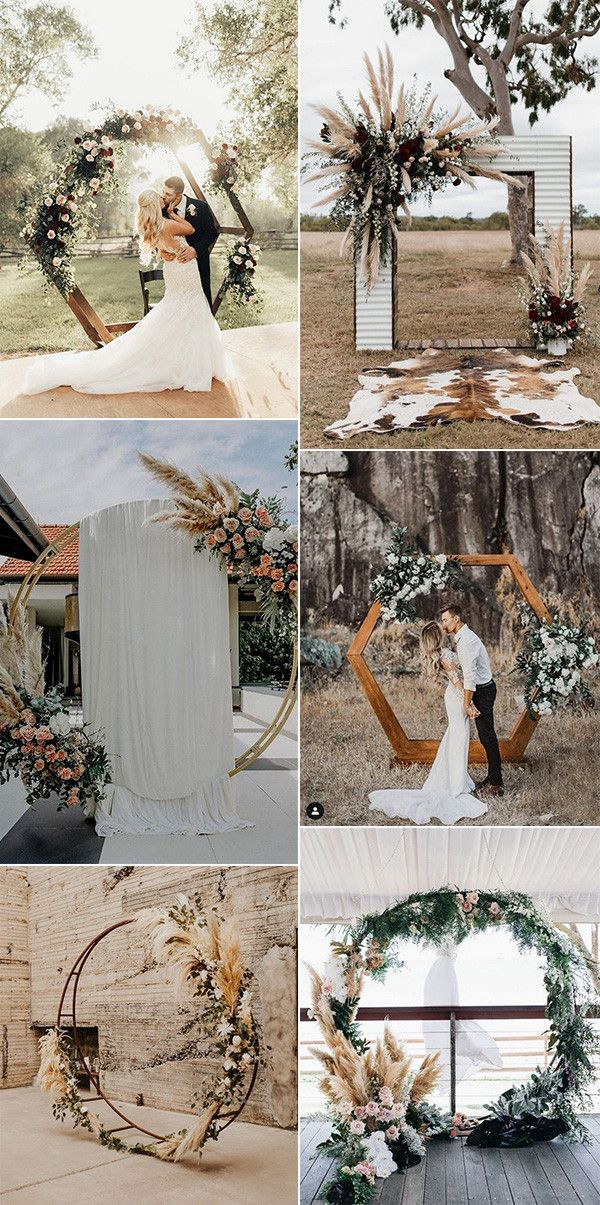 20 Fall Wedding Arch Ideas for 2020 Trends Oh