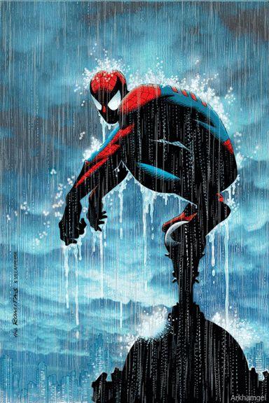 RPG, manga , quadrinhos , cultura em geral: gif do Homem aranha