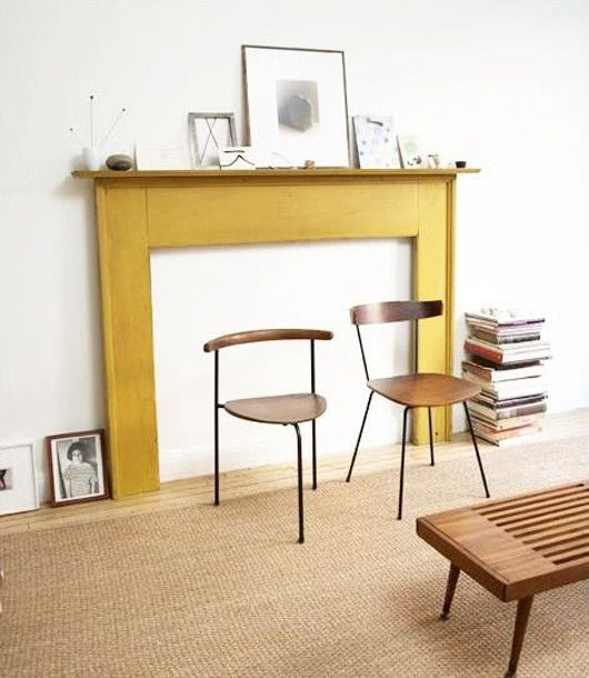1000 Images About Mid Century Fireplaces On Pinterest