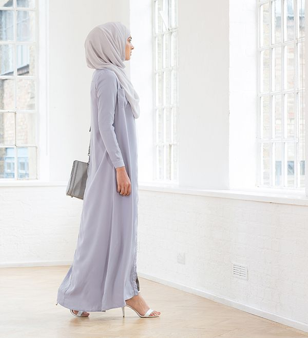 Pale Blue Long Shirt - £47.99 : Inayah, Islamic Clothing & Fashion, Abayas, Jilbabs, Hijabs, Jalabiyas & Hijab Pins