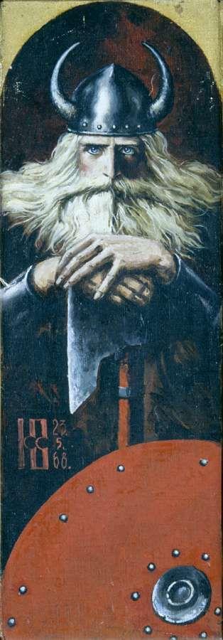 Воин с топором - Васильев Константин Алексеевич