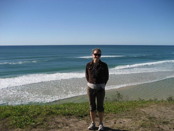 Heritage Cartographer Katie on Fraser Island, Australia. Fraser Island is a @unesco  listed World Heritage Site located along the southern Queensland Coast.