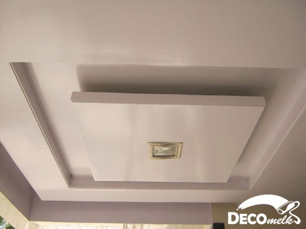 Decorations : Alluring White False Ceiling Design Ideas With Center Ceiling  Lights How To Decoration Ceiling Designs For Your Interior Tray Ceilings In  ...