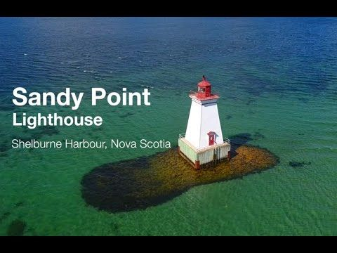 Sandy Point Lighthouse - Shelburne, NS