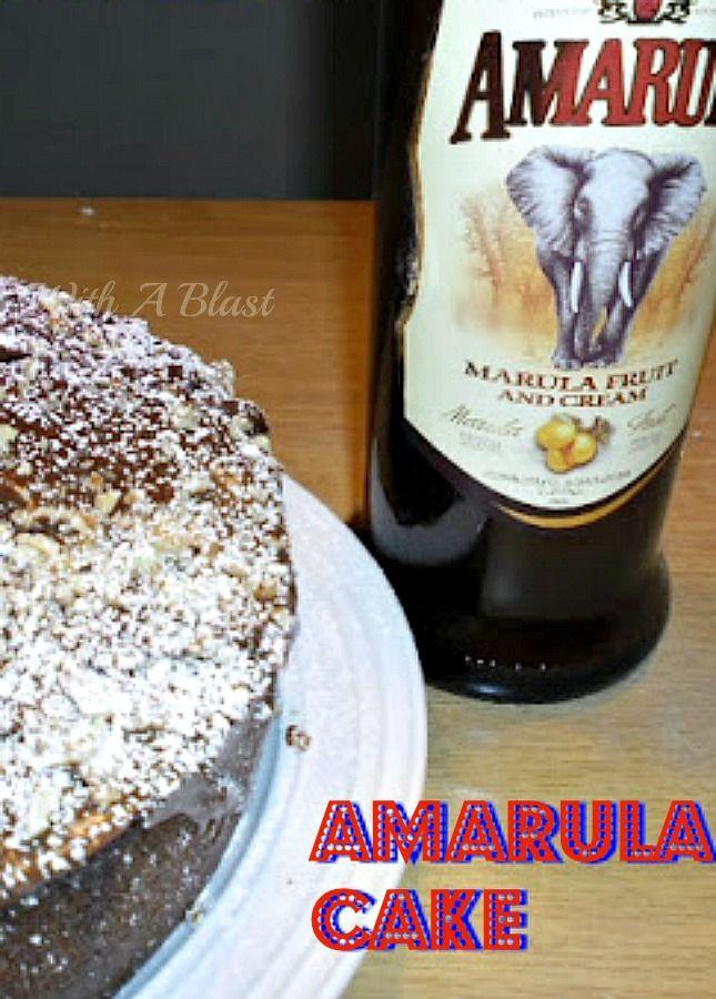 Traditional South-African Cake with a delicious Amarula Chocolate Ganache          #Amarula #AmarulaCake #Cake