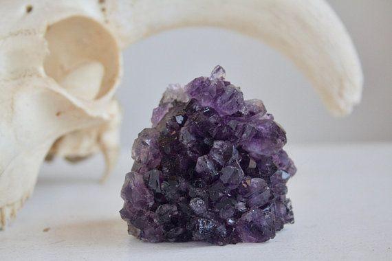 Spiritual Decor Druzy Amethyst Beautiful Crystal Cluster