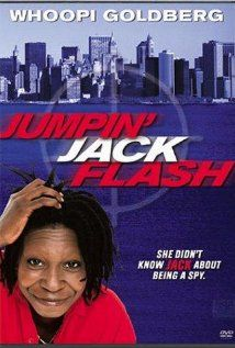 Jumpin' Jack Flash (1986) Terry works for a bank, and uses computers to communicate with clients all over the world. One day she gets a coded message from an unknown source. After decoding the message, Terry becomes embroiled in an espionage ring. People are killed, and Terry is chased. Throughout she remains in contact with this unknown person, who needs Terry to help save his life.