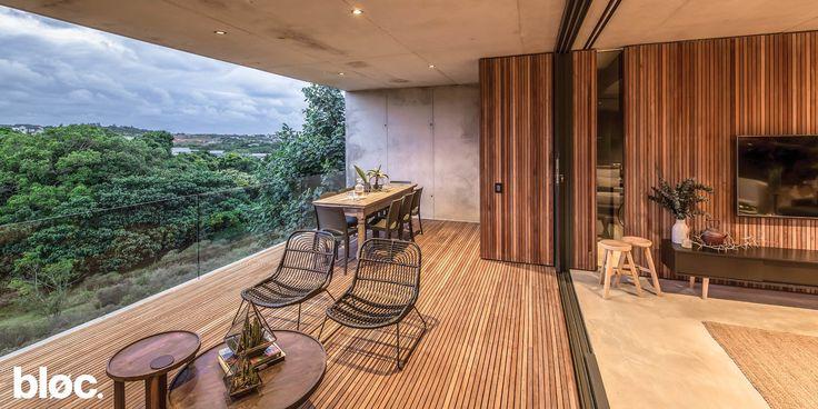 Bloc House Program : Residential Location : Dunkirk Estate, Salt Rock, South Africa  Size : 350m²   #architecture #modern #design #architectural photography