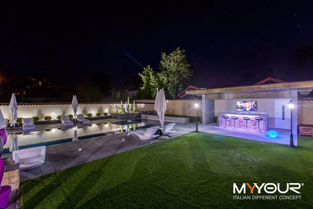 France Private Villa #myyour #design #italiandifferentconcept #pooldesign #gardendesign #tulip #zoe #babylove