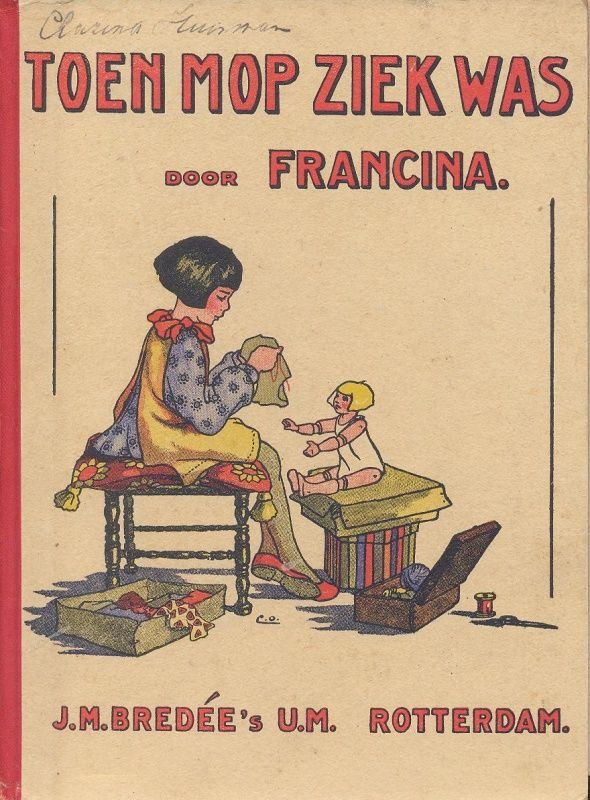 Francina-Toen Mop ziek was