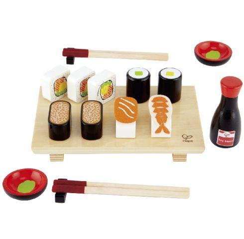 Hape sushi legemad i træ