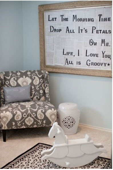 Sadie Stella Favorite Room Feature Gypsy Soul Interiors Love The Framed Quote