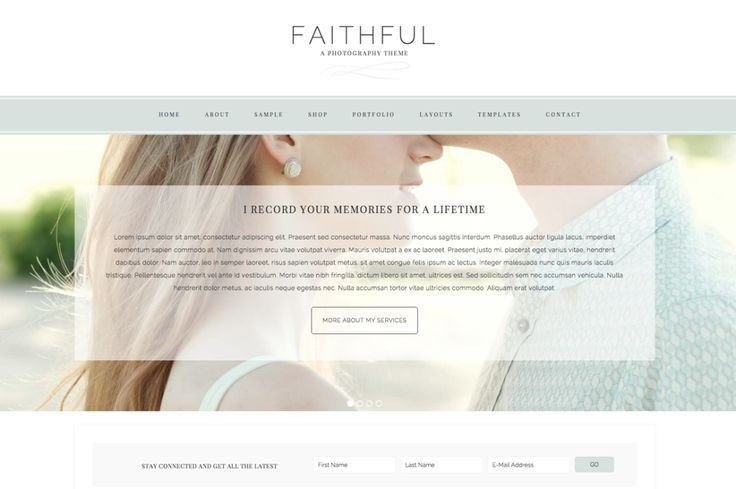 Restored 316 Design: Feminine WordPress Themes using the Genesis Framework