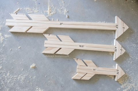 Wood+Arrow+measurements+for+3+different+size+arrows