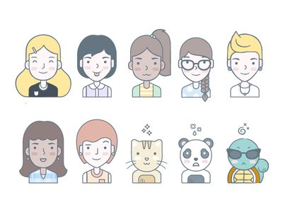 Citizens of Dropbox—by Alice Lee for Dropbox.