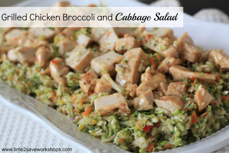 low carb recipes Archives - Grilled Chicken Broccoli & Cabbage Salad