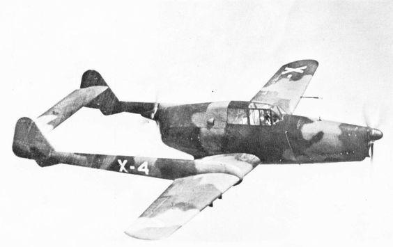Fokker D.XXIII in flight, 1939