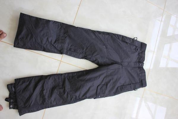 Немецкие выходные мужчины брюки лыжных штанов M холодных наружных брюки восхождения водонепроницаемые дышащие пресс для брюк коллагена одного
