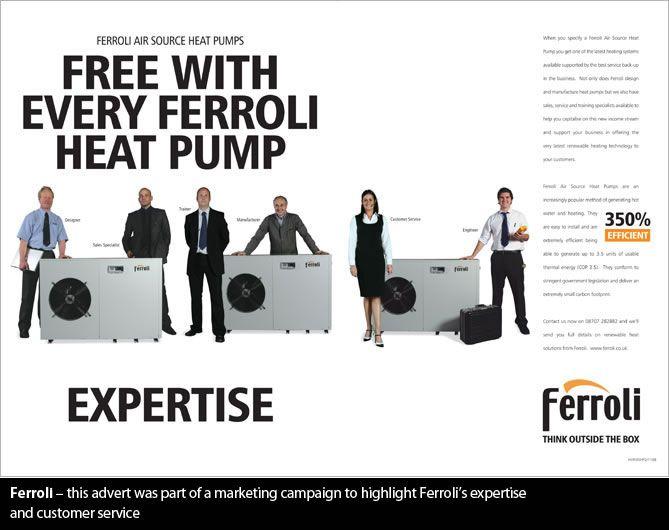 Ferroli Service campaign