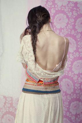 DA & créations textiles : Sylvia Eustache Rools Photo*Julie Rochereau / Modèle*Claudia Cuomo / Hair*Benjamin Zurcher.