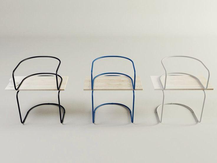 Air Chair la chaise pour pause café par Sergei Kotsepup  #Furniture - #Mobiliario