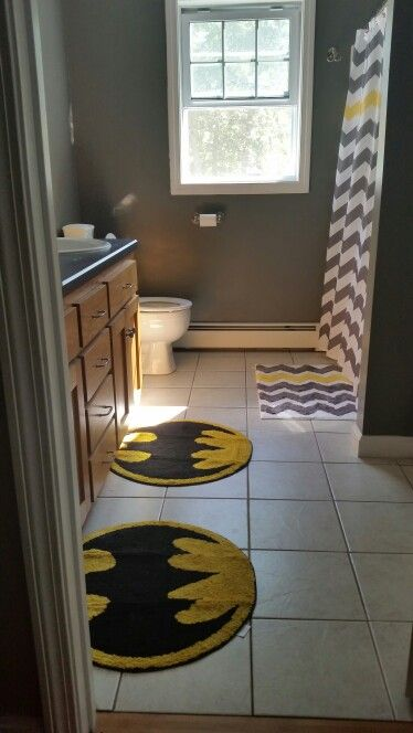 Batman bathroom