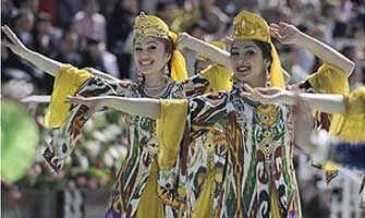 Navruz - one of the Uzbek most popular national holidays.