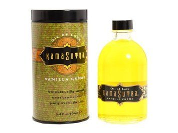 Amazon.com: Oil of Love Kissable Massage Oil by Kamasutra Vanilla Creme 3.4oz (New packaging as shown in the picutre): Health & Personal Care